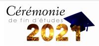Cérémonie de fin d'études 2021